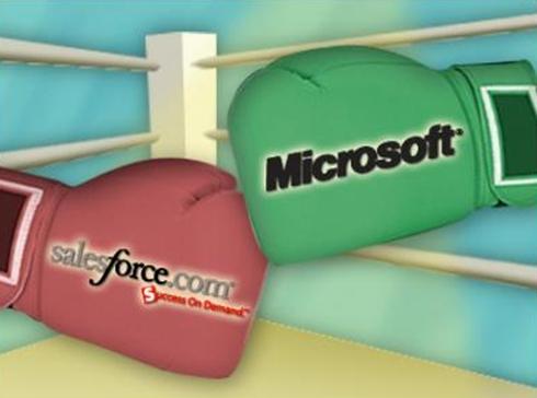 Microsoft Dynamics CRM vs Salesforece