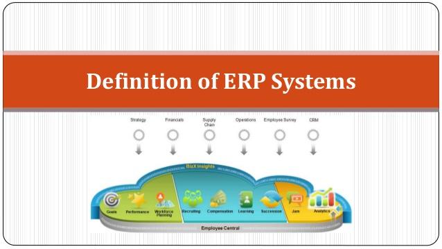 Definitie ERP
