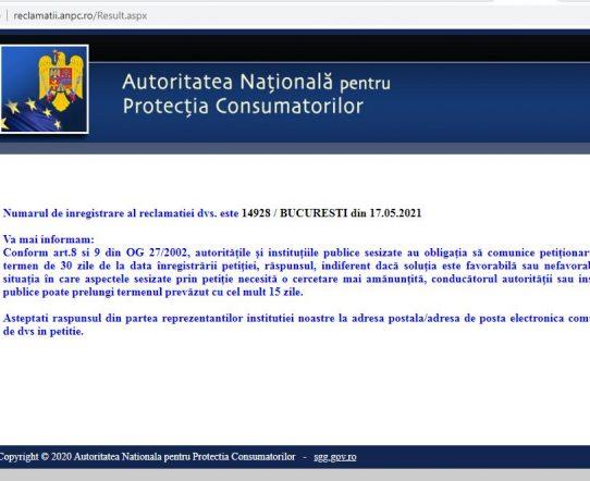 OPC ANPC reziliere contract internet Orange